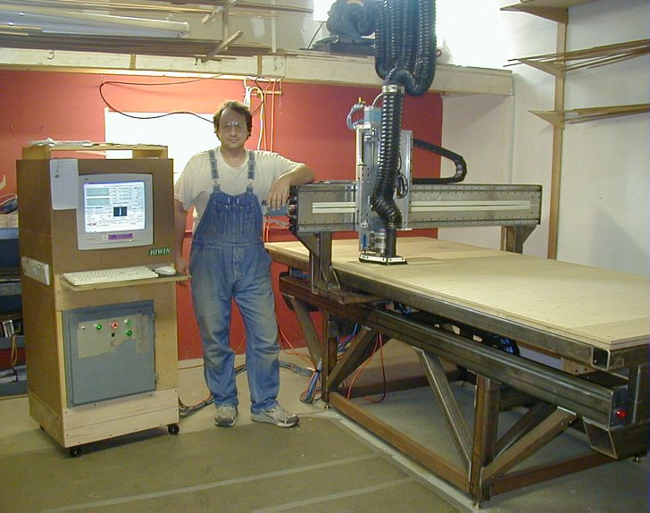 cnc precision gantry router