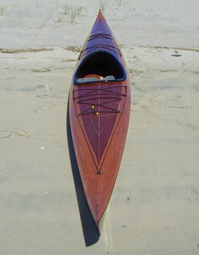 One secret: Secret Stitch and glue sit on top kayak