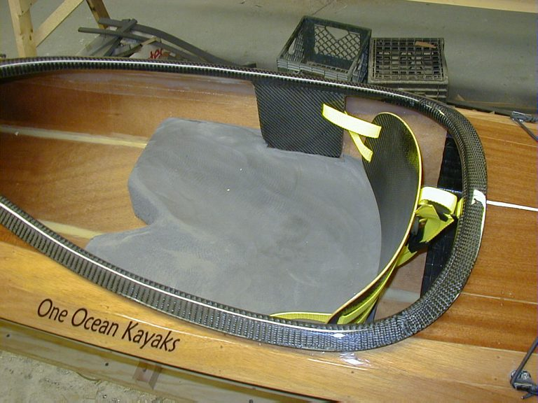 sea kayak seat from minicel foam